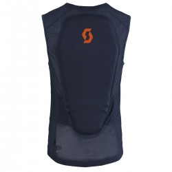 Dorsale Light Vest M'S ACTIFIT black/iris orange